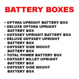 NI BATTERY BOXES